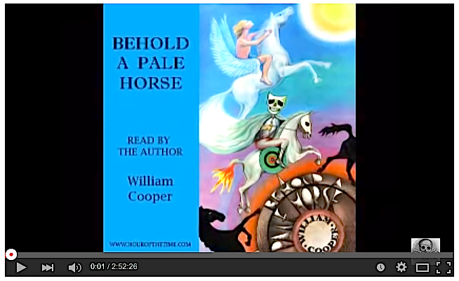 Milton William Cooper's Behold A Pale Horse Audio Book