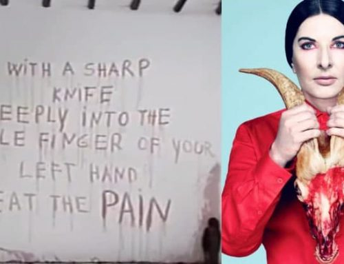 Does Maria Abramovic whose spirit cooking practice got her dumb Microsoft Commercial pulled have Ashkenazi / Zionist Roots?
